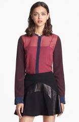 Diane von Furstenberg Cornelia Silk Shirt at Nordstrom
