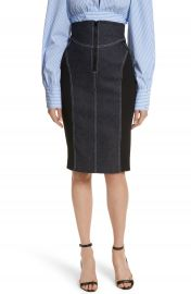 Diane von Furstenberg Denim Pencil Skirt at Nordstrom