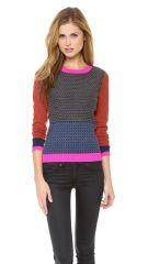 Diane von Furstenberg Fairlee Texture Sweater at Shopbop