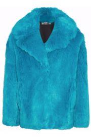 Diane von Furstenberg Faux Fur Coat at The Outnet