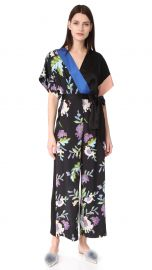 Diane von Furstenberg Faux Wrap Jumpsuit at Shopbop