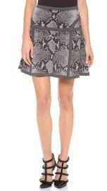 Diane von Furstenberg Flote Snakeskin Skirt at Shopbop