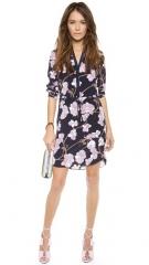 Diane von Furstenberg Freya 34 Sleeve Dress at Shopbop