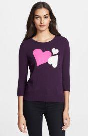 Diane von Furstenberg Heart Intarsia Cashmere Sweater at Nordstrom