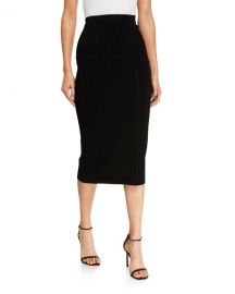 Diane von Furstenberg Heath Stretch Knit Pencil Skirt at Neiman Marcus