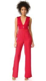 Diane von Furstenberg Kyara Tux Jumpsuit at Shopbop