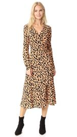 Diane von Furstenberg L   S Woven Wrap Dress at Shopbop
