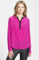 Diane von Furstenberg Maisy Silk Blouse at Nordstrom