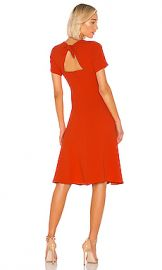 Diane von Furstenberg Rose Dress in Spicy Orange from Revolve com at Revolve