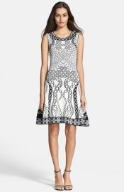 Diane von Furstenberg Sleeveless Fit andamp Flare Dress at Nordstrom