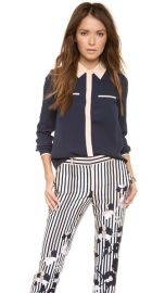 Diane von Furstenberg Trudy Blouse at Shopbop