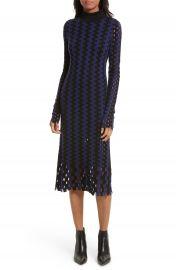 Diane von Furstenberg Turtleneck Merino Wool Midi Dress at Nordstrom