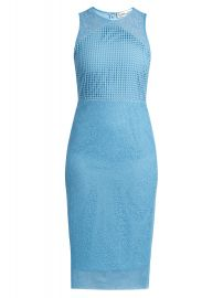 Diane von Furstenberg Twig and circle-lace sleeveless midi dress at Matches