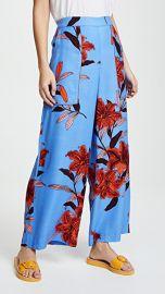 Diane von Furstenberg Wide Leg Cropped Pants at Shopbop