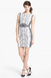 Diane von Furstenberg and39Beyand39 Snake Print Sleeveless Dress at Nordstrom