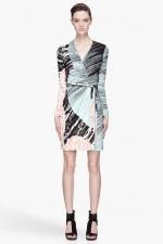 Diane von Furstenberg dress on HIMYM at Ssense