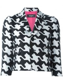Digital Houndstooth Jacket by Dsquared2 at Farfetch