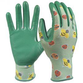 Digz Nitrile Coated Garden Gloves at Home Depot