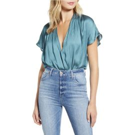 Dijon Shirred Bodysuit by Paige at Nordstrom