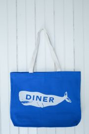 Diner Whale Tote at Diner NYC