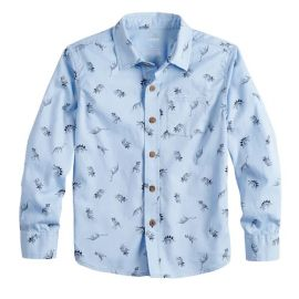 Dinosaur Print Button Down Shirt by SONOMA Goods for Life at Kohls