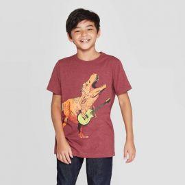Dinosaur Short-Sleeve Graphic T-Shirt by Cat  Jack at Target