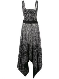 Dion Lee Pleated Lace Corset Dress - Farfetch at Farfetch