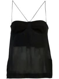Dion Lee Sheer Bustier Top - Farfetch at Farfetch