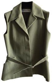 Dior vest at Tradesy
