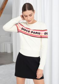 Disco Paris Sweater at & Other Stories