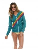 Disco zip hoodie by Aviator Nation at Aviator Nation