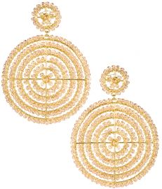 Disk Earrings at Lisi Lerch
