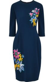 Disney Appliqued Crepe Dress by Mary Katrantzou at The Outnet