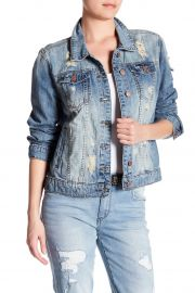 Distressed Denim Jacket by STS Blue at Nordstrom Rack