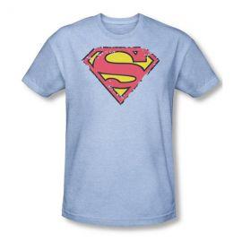 Distressed Superman Tee at Amazon