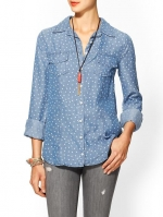 Ditsy floral chambray shirt by Splendid  at Piperlime