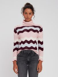 Dixie Turtleneck Sweater by LoveShackFancy at Verishop