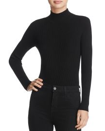 Do and Be Lace-Up Rib-Knit Bodysuit black at Bloomingdales