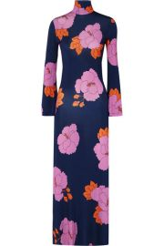 Dodo Bar Or - Brigitte floral-print stretch-jersey dress at Net A Porter