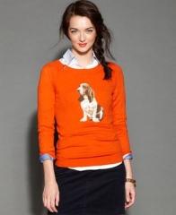 Dog Print Sweater at Macys