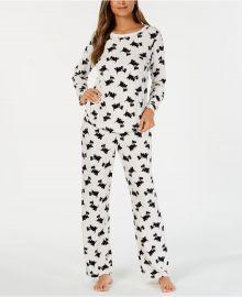 Dog Thermal Fleece Pajamas by Charter Club at Macys