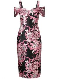 Dolce  amp  Gabbana Floral Off-the-shoulder Dress - Farfetch at Farfetch