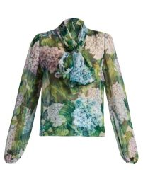 Dolce and Gabbana Hydrangea Blouse at Matches
