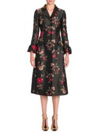 Dolce   Gabbana - Floral Jacquard Coat at Saks Fifth Avenue