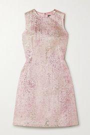 Dolce   Gabbana - Metallic cloqu   mini dress at Net A Porter