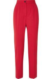 Dolce   Gabbana - Wool-blend straight-leg pants at Net A Porter