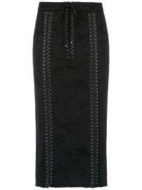 Dolce   Gabbana Corset Style Lace Skirt - Farfetch at Farfetch