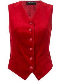 Dolce   Gabbana Fitted Waistcoat - Farfetch at Farfetch