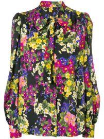 Dolce   Gabbana Floral Print Blouse - Farfetch at Farfetch
