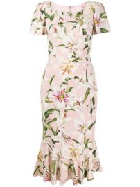 Dolce   Gabbana Floral Print Dress - Farfetch at Farfetch